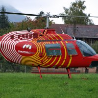 Bell Jet Ranger der Belper Mountainflyers